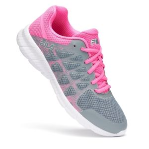 B2G1 Fila Gray/Pink Memory Finity Running Shoes